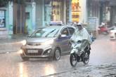 Chiều nay miền Bắc và khu vực Thanh Hóa có mưa lớn