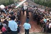 Xúc động tiễn đưa Đại tá, liệt sĩ Phạm Giang Nam về với đất mẹ nghìn thu