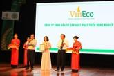 Vineco đạt danh hiệu thương hiệu vàng nông nghiệp Việt Nam