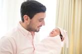 Chồng Tây của Hà Anh viết tâm sự xúc động gửi đến con gái mới sinh