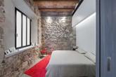 17 kiểu phòng ngủ với tường đá và gạch thô đáp ứng mọi sở thích của người chuộng phong cách này