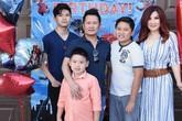 Bằng Kiều và vợ cũ mở tiệc sinh nhật cho con trai út