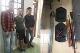 Ba thanh niên mang hung khí bắt giữ hai phụ nữ để đòi nợ thuê