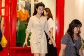 """Lý do mẹ Hoa hậu Đỗ Mỹ Linh """"né tránh"""" ống kính máy ảnh"""