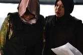 Đoàn Thị Hương khóc nức nở vì phán quyết của tòa án