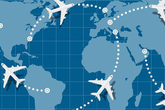 Máy bay không bay theo đường thẳng bao giờ - biết được lý do bạn sẽ bất ngờ