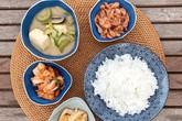Mâm cơm đầy đặn toàn món tự làm của gia đình Tăng Thanh Hà