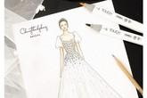 Váy cưới của Nhã Phương chính thức lộ diện, điệu đà như váy công chúa và mất 20 ngày để thực hiện