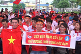 Người dân quê nhà cầu thủ Olympic Việt Nam buồn vui sau trận bán kết trong mơ