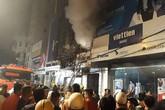 Thanh Hóa: Cháy lớn nhiều nhà liền kề khiến cả khu phố náo loạn