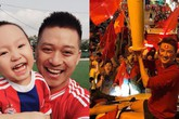 Cách sao Việt thể hiện tình yêu mãnh liệt với bóng đá: người rầm rộ, người âm thầm nhưng vẫn nồng nhiệt hết mức!