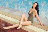 'Cô nhân tình trơ trẽn' Băng Di khoe dáng bên hồ bơi