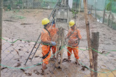 Tổng công ty Điện lực miền Bắc quyết tâm khắc phục sự cố do mưa lũ để cấp lại điện cho nhân dân