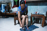 Người dân vùng ngập lụt Thủ đô mắc nhiều bệnh ngoài da