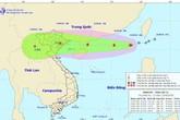Bão số 5 vào biển Đông, miền Bắc sắp mưa lớn