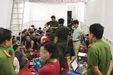 Bộ Công an vây bắt sòng bạc của băng giang hồ tại Sài Gòn