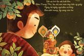 Bộ tranh cha và con trai Tết trung thu: Tiếng với gọi của kí ức ùa về