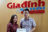 Bé Quỳnh Chi bị ung thư máu đón nhận tấm lòng thiện tâm của độc giả báo GĐ&XH