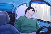 Giám đốc doanh nghiệp tử vong khi ngủ trong ôtô
