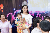 Hình ảnh tuyệt đẹp của Hoa hậu Trần Tiểu Vy sau ồn ào bảng điểm