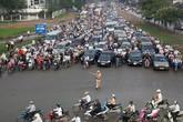 Cấm nhiều tuyến đường phục vụ Lễ Quốc tang Chủ tịch nước Trần Đại Quang