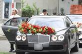 Chiếc xe siêu sang gây chú ý của chồng Lan Khuê trong lễ đính hôn