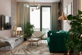 Căn hộ sở hữu một vườn cây xanh trong nhà này sẽ khiến bạn cảm thấy mát rượi tâm hồn ngay khi nhìn thấy