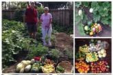 Khu vườn rợp cây trái giúp người phụ nữ từng nặng 180 kg vượt qua bệnh tật