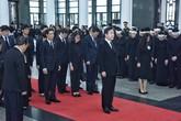 Lãnh đạo quốc tế viếng Chủ tịch nước Trần Đại Quang