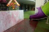 Giang hồ tấn công, ném mắm tôm trộn sơn vào trường mầm non trong ngày khai giảng