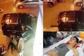 """Vụ nữ tài xế say rượu, lái xe Lexus gây tai nạn liên hoàn ở Hà Nội: """"May mà CSGT kịp thời rút chìa khóa điện"""""""