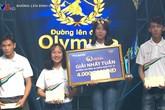 Nữ 10X chiến thắng cuộc thi tuần 'Đường lên đỉnh Olympia'