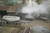 """Hà Nội: Người dân kêu cứu vì bị xưởng bê tông """"bức tử"""" nhiều năm trời"""