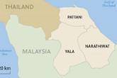 Nổ bom ở chợ phía Nam Thái Lan, 21 người thương vong