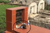 Thông tin mới nhất vụ gần trăm bát hương ở nghĩa trang bị đập phá trong đêm