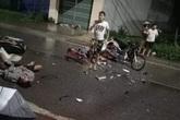 Thái Nguyên: Hai xe máy đối đầu, 3 người chết, 4 người thương nặng