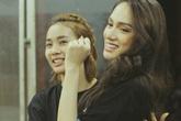 Hé lộ hậu trường luyện tập của Hương Giang Idol tại Hoa hậu Chuyển giới Quốc tế