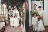 """Có ai """"đỉnh"""" được như cặp đôi dành 6 tháng để """"hóa thân"""" thành bố mẹ trong đám cưới năm 1978 và 1992 từ chính hôn lễ của mình?"""
