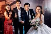 Lan Ngọc cùng dàn nghệ sĩ dự tiệc cưới đạo diễn Võ Thanh Hòa