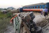 Vụ tai nạn kinh hoàng giữa tàu hỏa với xe tải tại Thanh Hóa: Đình chỉ công tác Cung trưởng cung chắn Hoàng Mai