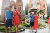 Hoa hậu Ngọc Hân đăng ảnh '8 năm', điều đặc biệt là người đàn ông bên cạnh vẫn là người quen mặt