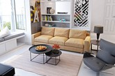 Tư vấn thiết kế nội thất nhà ống diện tích 21m² thoáng mát, đầy đủ công năng