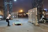 Nghi án tài xế taxi bị cướp cứa cổ, gục chết trước cửa sân vận động Mỹ Đình