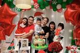 Vợ chồng Jennifer Phạm tổ chức sinh nhật 2 tuổi cho con út