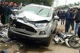"""Vụ """"xe điên"""" đâm 2 vợ chồng tử vong tại Hà Nội: Chủ xe là nữ giới"""