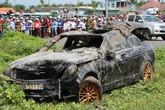 Hành trình của chiếc Mercedes chở ba người trước khi gặp nạn