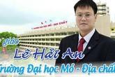 Trường ĐH Mỏ - Địa chất tổ chức Lễ tưởng nhớ Thứ trưởng Lê Hải An