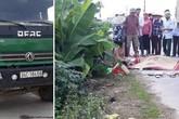 Hải Dương: Va chạm với ô tô tải đi lùi, mẹ đẻ tử vong, con gái bị thương