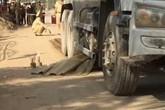 Hải Phòng: Thương tâm người phụ nữ bị cuốn vào gầm xe bồn tử vong