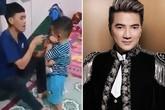 Phản ứng lạ của ông bố đánh con bị giang hồ đến đòi xử sau khi được ca sĩ nổi tiếng xin lỗi